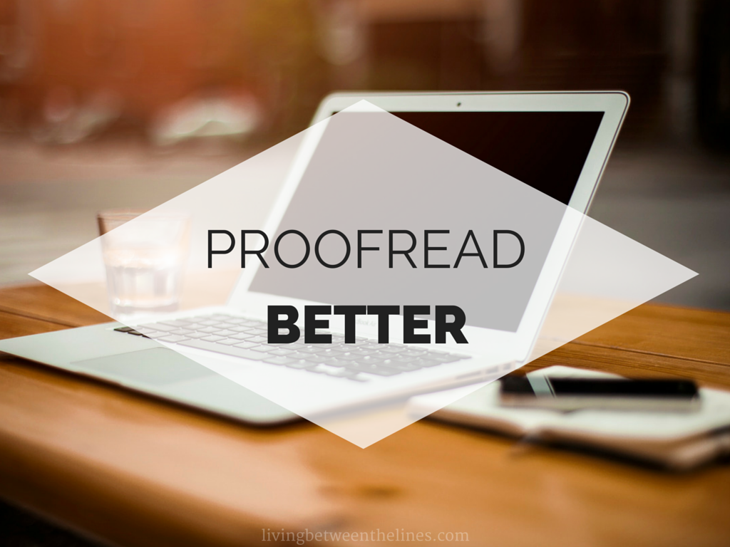 online proofreading